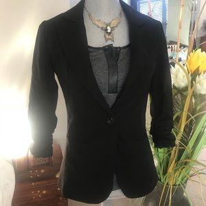 Black blazer with 3/4 sleeve